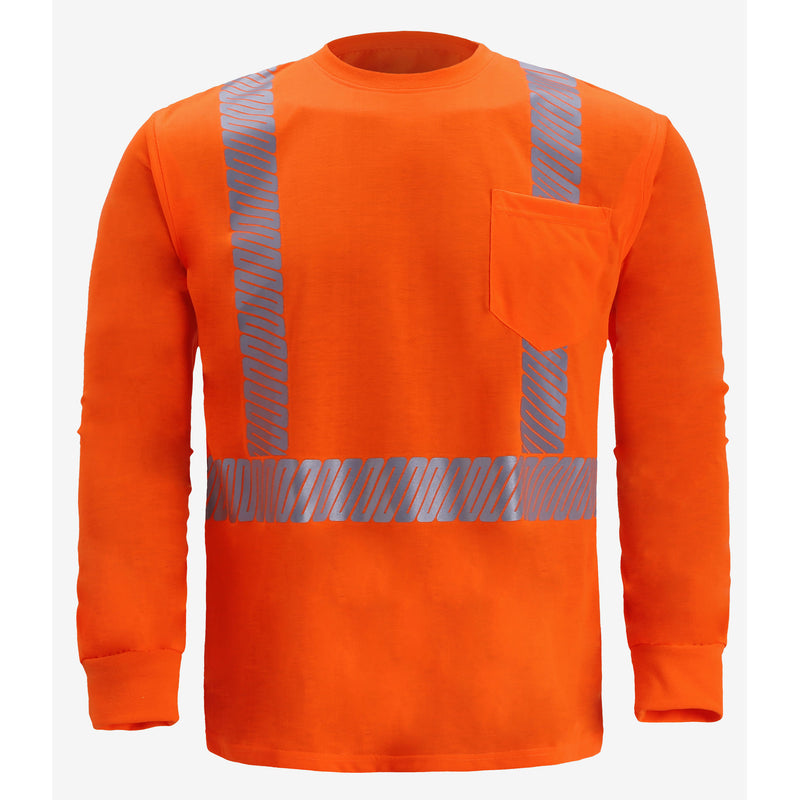 CLASS 2 LONG SLEEVE JERSEY T SHIRT- ORANGE