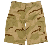 Ultra Force Tri-Color Extra Long BDU Short