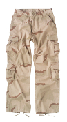 Vintage Tri-Color Desert Camo Paratrooper Fatigues