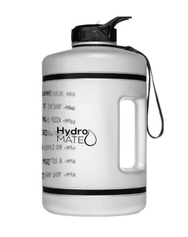 Motivational Gallon Straw Water Bottle (Clear)