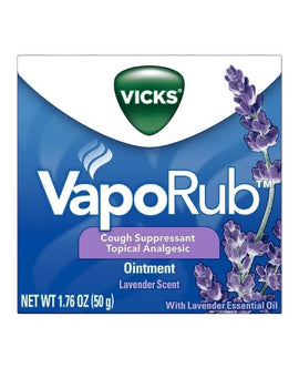 Vicks VapoRub Lavender Scented Chest Rub Ointment 50 g
