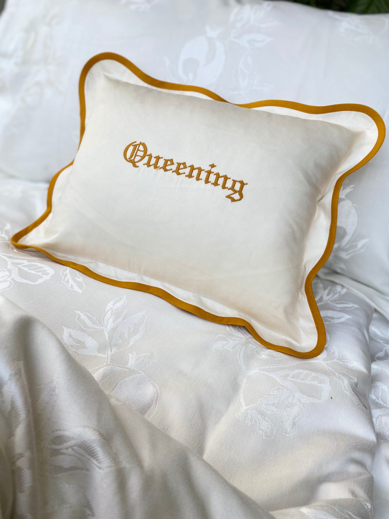 Queening Mini Cushion