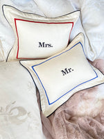 Mr. and Mrs. Mini Cushions