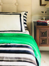 Emerald Black Duvet Set
