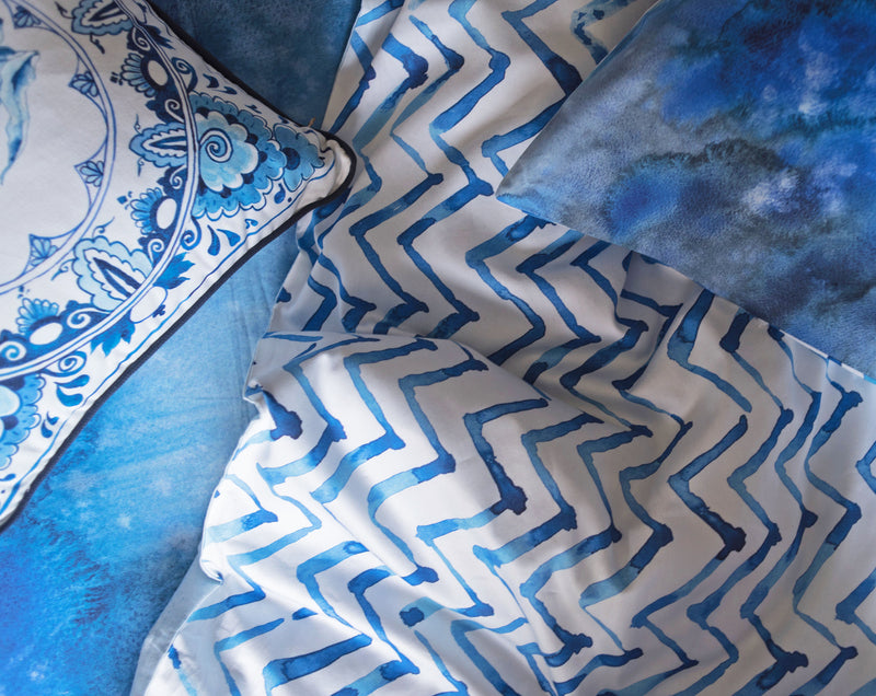 Water Mountains Duvet Set