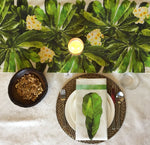Green Champa Table Runner