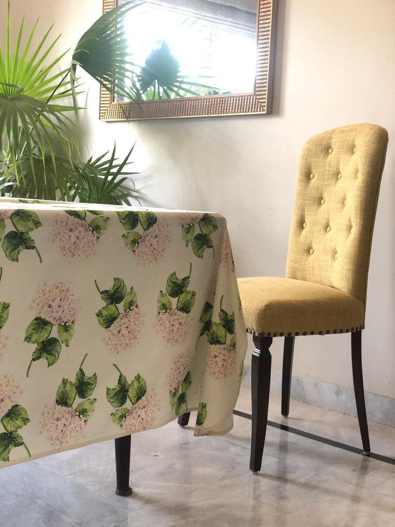 Pink Hydrangeas Table Cover