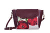 City Crossbody Bag: Pomegranate