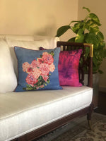 Purple Wash Cushion Cover