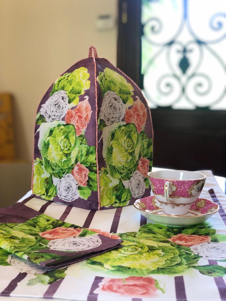Midsummer Rose Trolley Cover