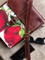 Travel Hero Crossbody Bag: Pomegranate