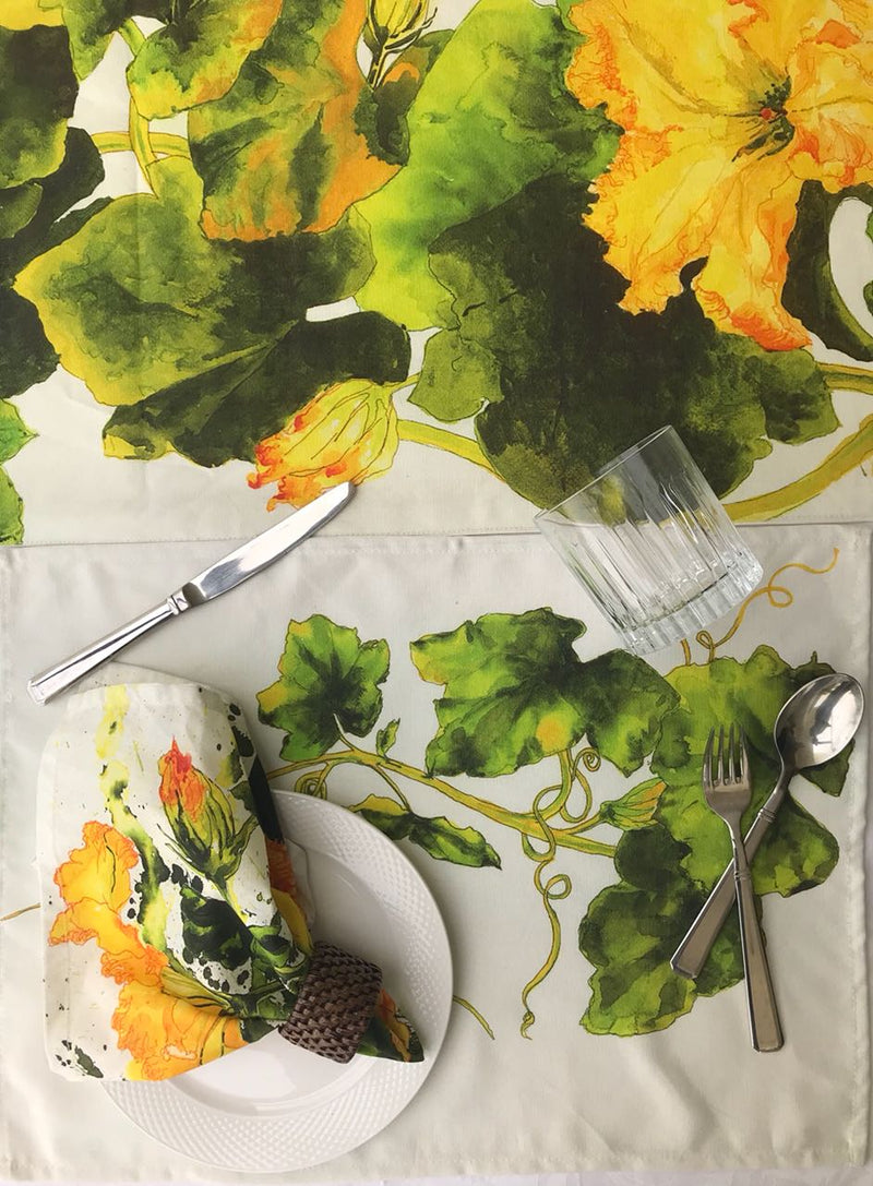 Summer Squash Table Runner