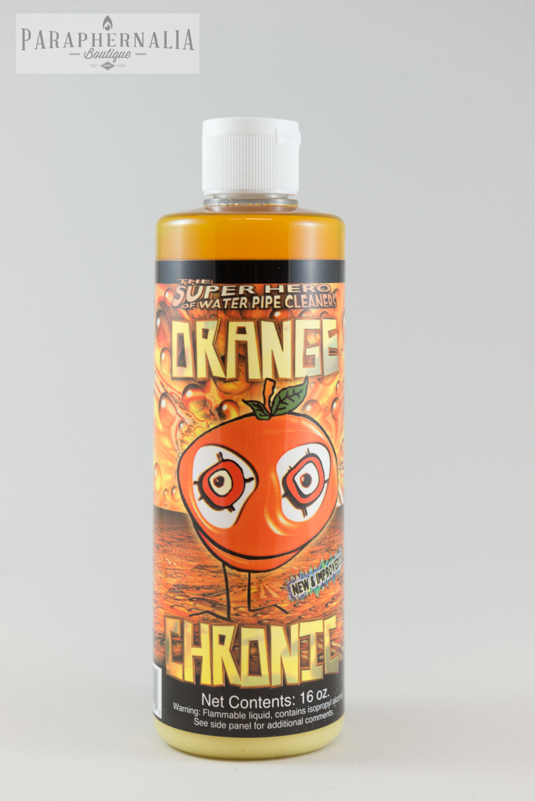 Orange Chronic Cleaner -- Water Pipe, Metal, Glass &  Hookah cleaner