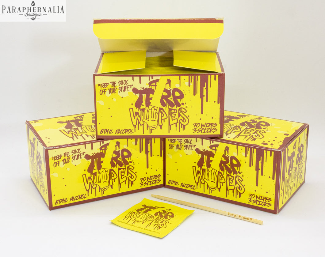 Terp Wipes 3 boxes