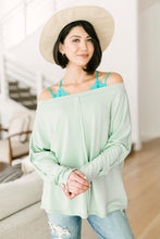 Load image into Gallery viewer, Center Stage Sweater in Sage