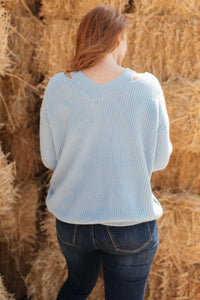Cozy Cut Out Sweater