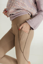 Load image into Gallery viewer, Dressin' Casual Leggings in Taupe