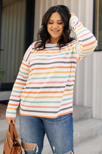 Expecting Sunny Days Sweater
