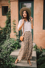 Load image into Gallery viewer, Fallen Leaves Wide Leg Pants
