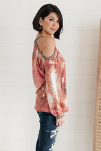 Load image into Gallery viewer, First Of The Season Tie Dye Top in Mauve