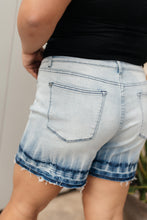 Load image into Gallery viewer, Melted Blues Denim Shorts