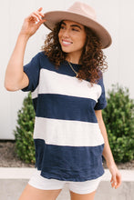 Load image into Gallery viewer, Modern Brenton Top in Navy
