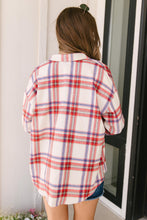Load image into Gallery viewer, Pretty In Plaid Button-Up Top in Red