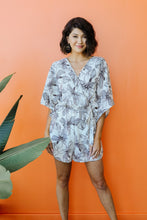 Load image into Gallery viewer, Floral Sketch Romper