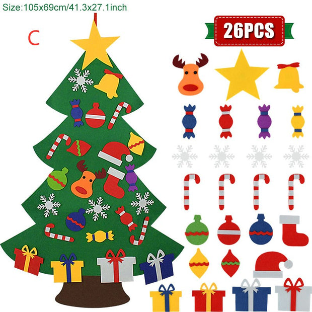 🎄Kids DIY Felt Christmas Tree🎄