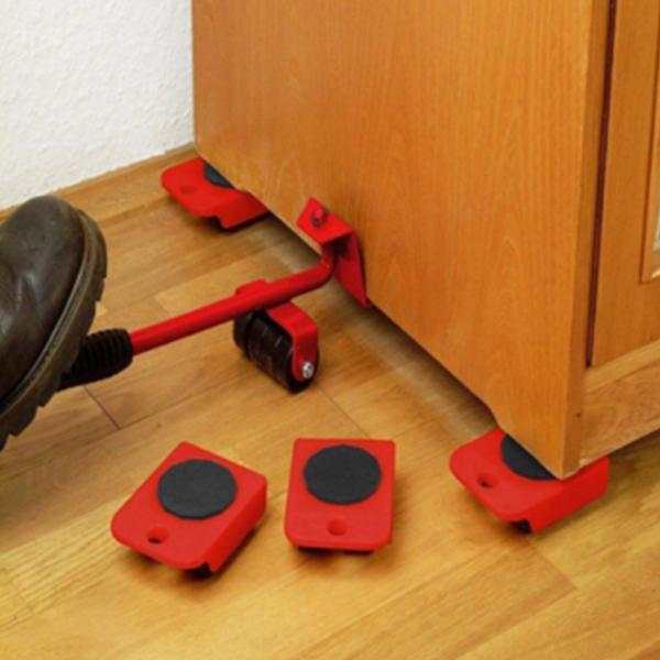 Heavy Duty Furniture Tool With Mover Rollers - Offer NOW