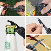 Foldable Multi-Tool Stainless Steel 10 in 1 Tool