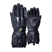 Mechanical skeleton motorcycle gloves
