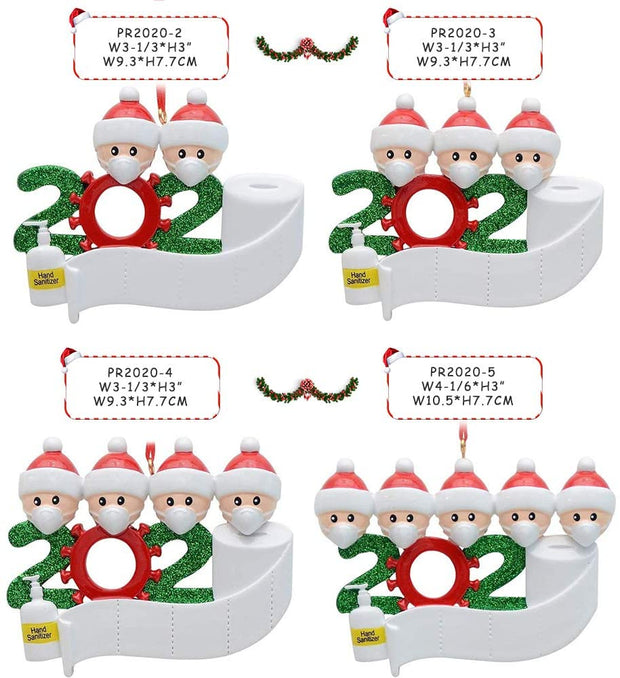 [BUY 2 GET 15% OFF]2020 Quarantine Family with Hanging Ornament