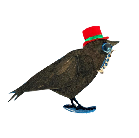 Earl the Raven - Brooch