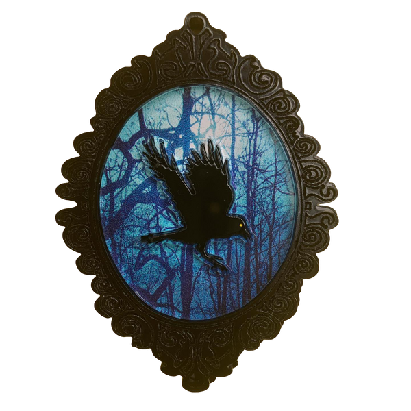 Talon the Raven - Brooch