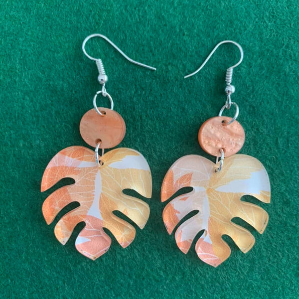 Autumn Leaves -  Drop earrings