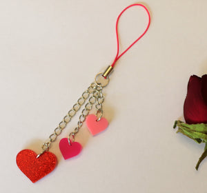 Valentines dangle