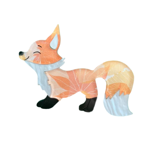 Hunter the autumn - Fox 🦊 brooch