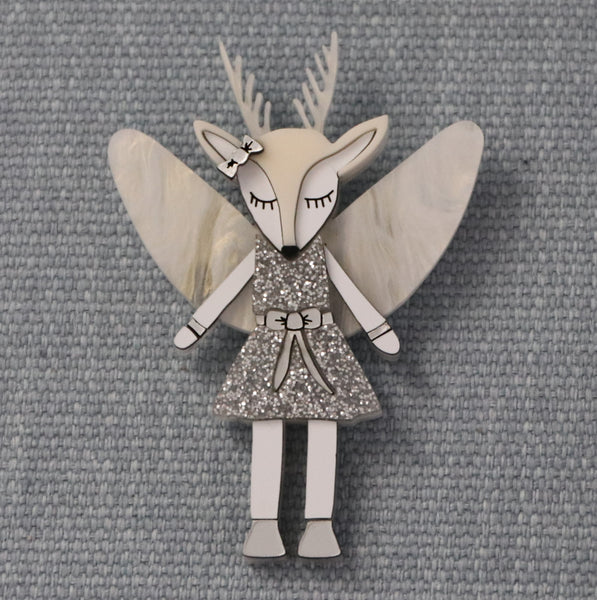 Deer Angel - Brooch