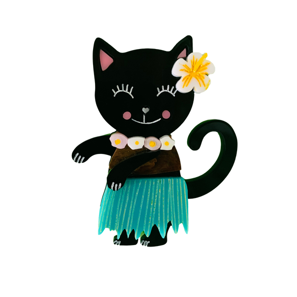 Aloha Kitty - Brooch