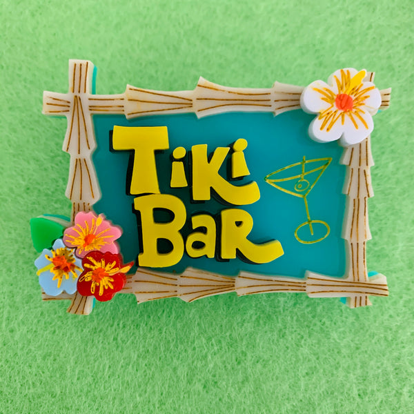 Tiki Bar - Brooch