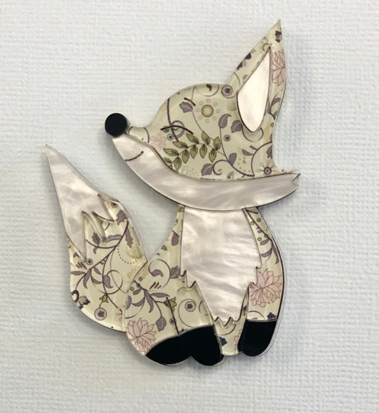 Edward the fox 🦊 - Brooch