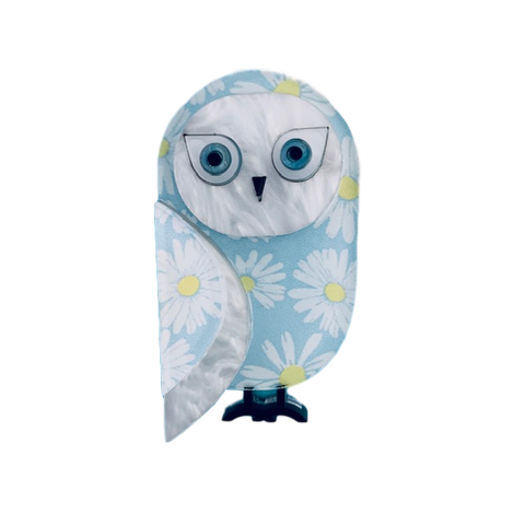 Snowy the Owl - Brooch