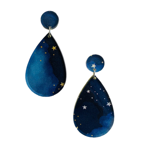 Harriet stars pattern - earrings
