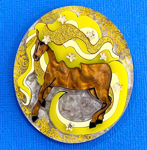 Sundancer- Brooch