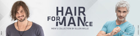 New HairForMance collection of luxury wigs for men is available now!