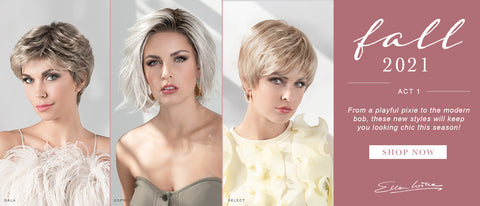 Three brand new styles from Ellen Wille's Hair Society collection are available now for fall!