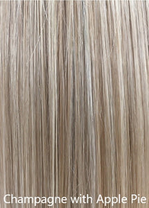 "100% Hand-made Premium Topper Straight 14"" - by Belle Tress"