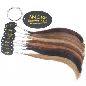 Human Hair Color Ring - by Amore