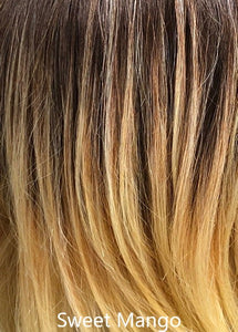 Pure Honey  Balayage - Café Collection (Monofilament Top) by Belle Tress